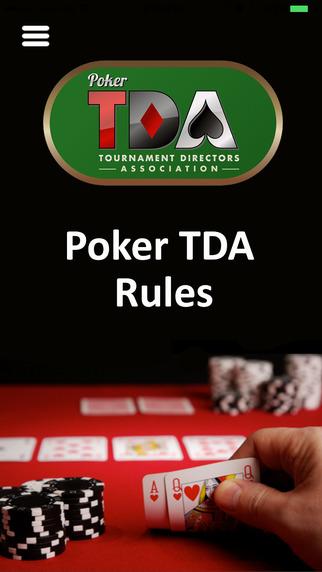 TDA Poker Rules