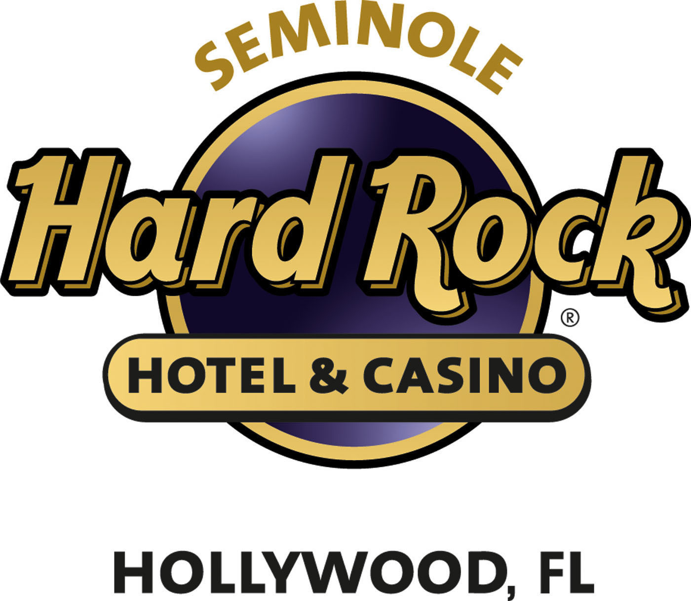SEMINOLE HARD ROCK HOTEL & CASINO HOLLYWOOD LOGO